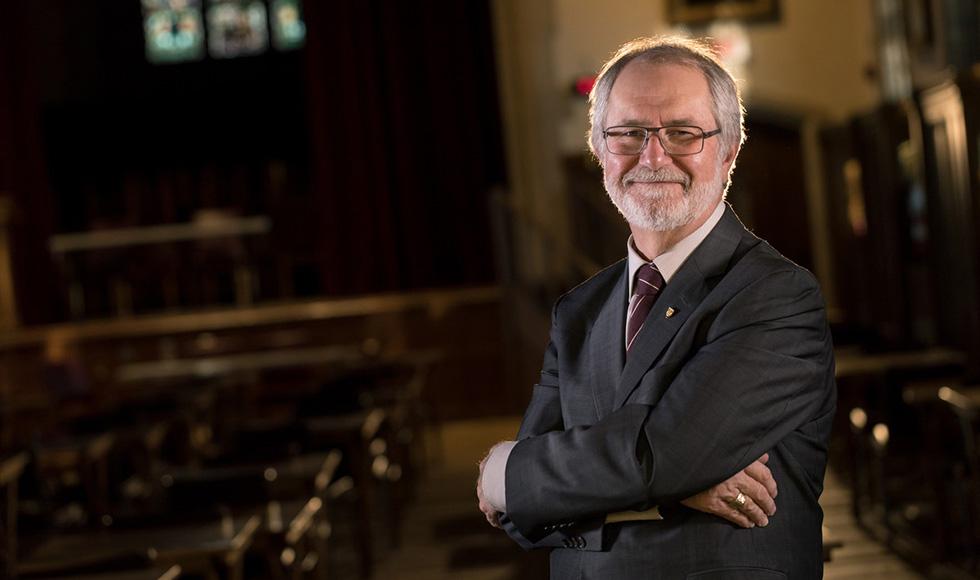 President Patrick Deane