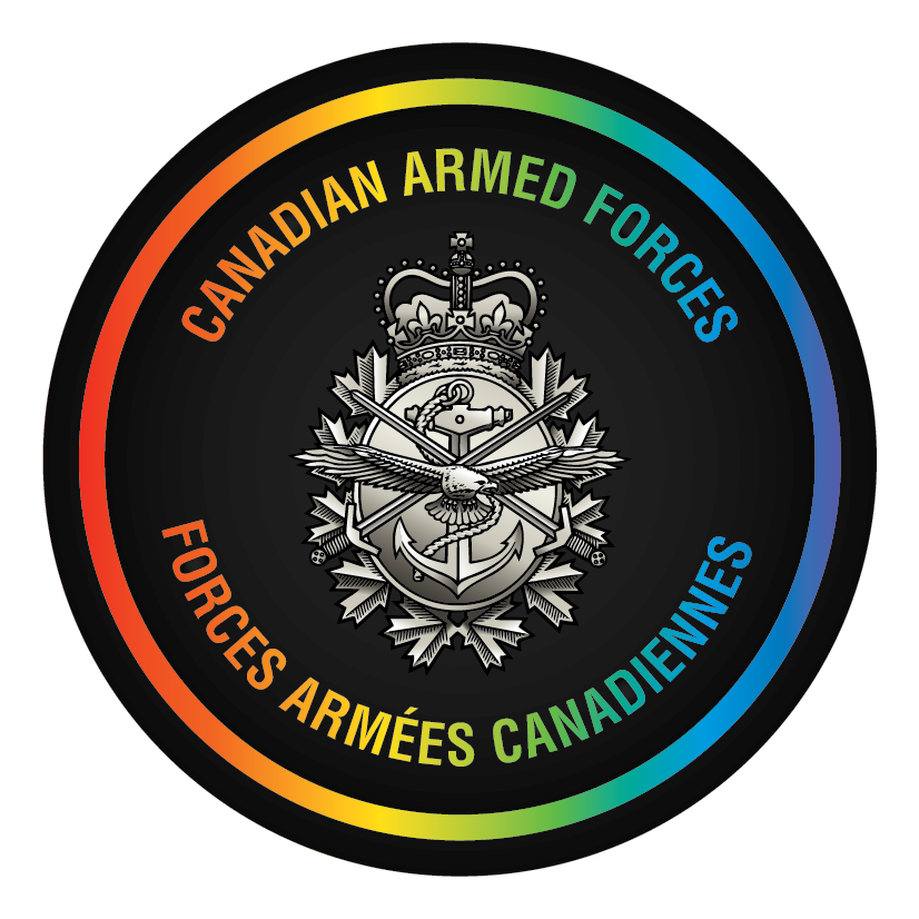 Canadian Armed Forces Logo - Pride Edition