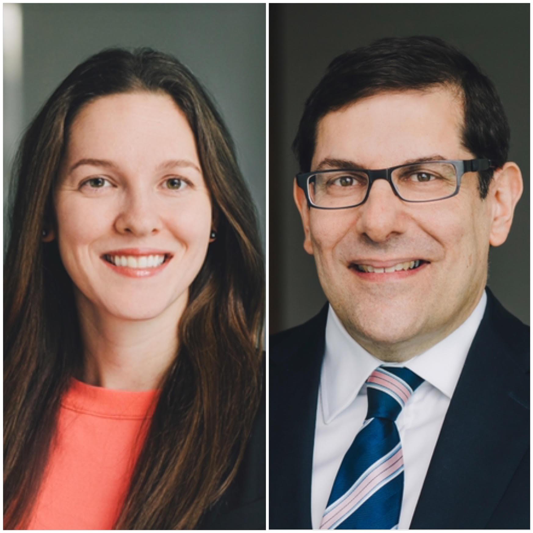 <hr></hr> Andrea Skinner, Diversity and Inclusion Partner, and Steven Zakem, Managing Partner </br>Aird & Berlis