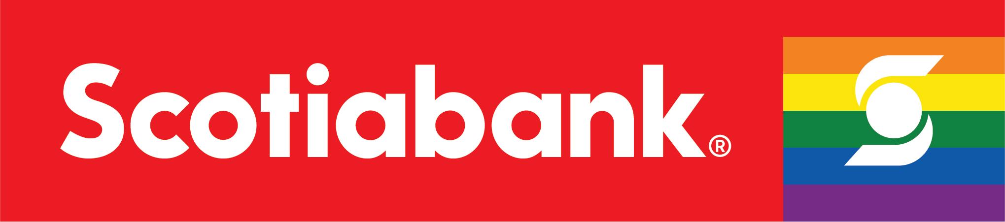 Scotiabank rainbow logo