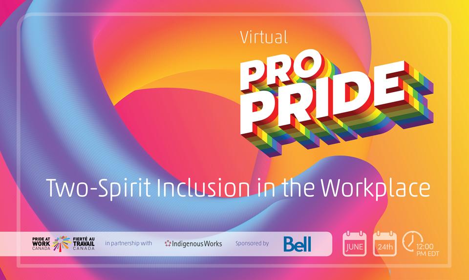 Virtual Pro Pride - Two Spirit English Banner
